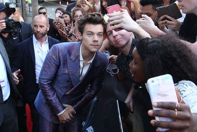 Singer Harry Styles  at the 2017 ARIA Awards