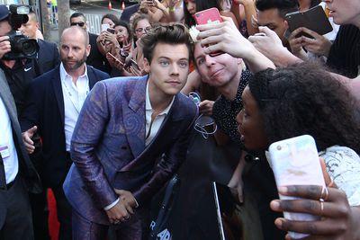 Singer Harry Stylesat the 2017 ARIA Awards