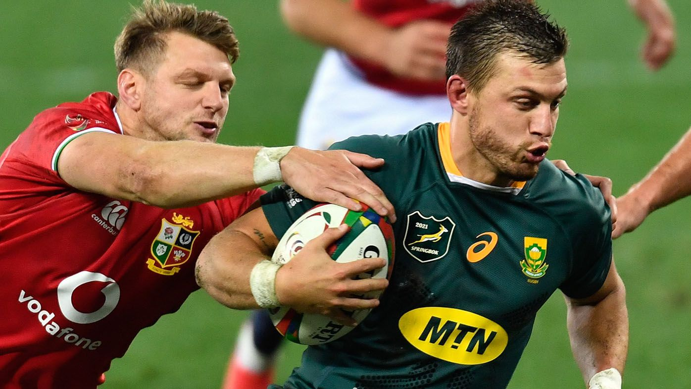 Springboks bounce back for emphatic second Test win over British and Irish Lions