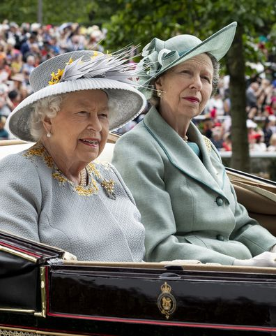 Queen and Princess Anne Royal Ascot 2019
