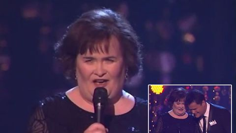 Watch: Susan Boyle terrified on Dancing With The Stars