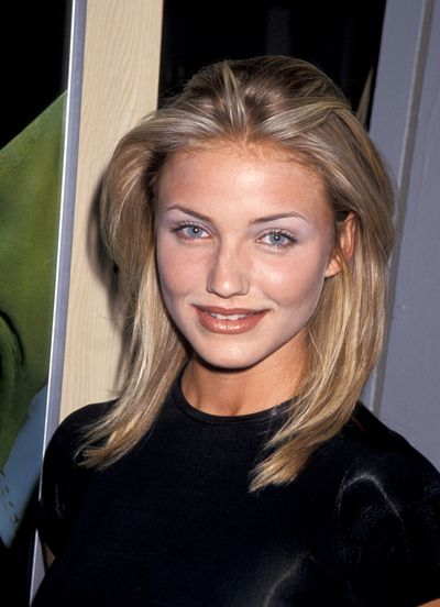 <p>Blue Eyeshadow</p> <p>Muse - Cameron Diaz pictured in 1994</p>