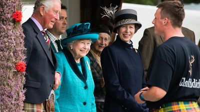 Queen Elizabeth attends the Braemar Royal Highland Gathering, September 2018