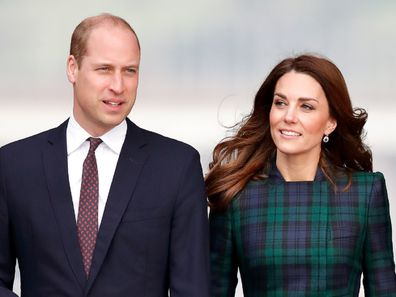 The Duke and Duchess of Cambridge in Scotland in January 2019.