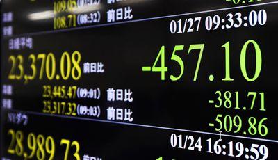 Coronavirus causing drops in global stock prices