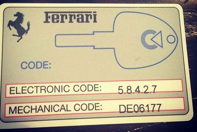 @letthelordbewithyou: Most people have credit cards I have Ferrari key cards