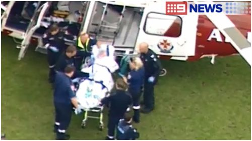 Elderly man in critical condition after cabin fire in the Mornington Peninsula, Victoria