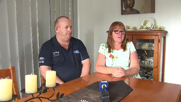 Couple reunited with babies' ashes stolen in break-in