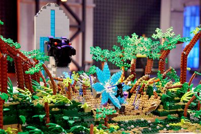LEGO Masters 2020 Episode 11 Marvel Cinematic Universe Harrison and Michael