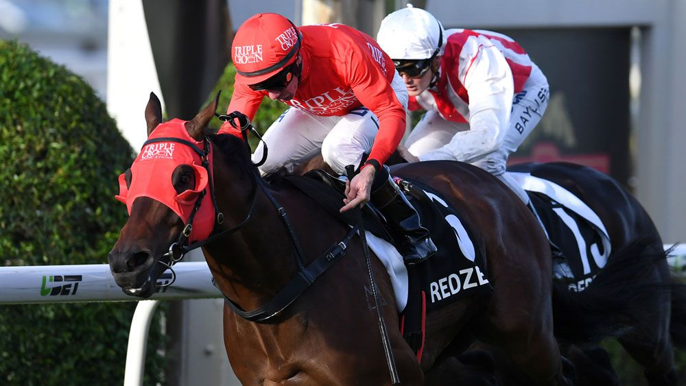 Redzel scored an impressive win in the Doomben 10,000. (AAP)