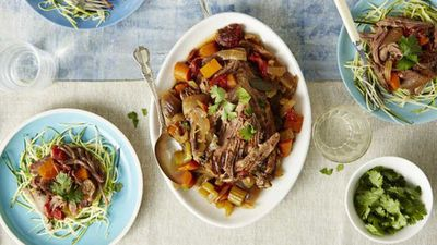 "<a href=""http://kitchen.nine.com.au/2017/03/15/13/06/slow-cooked-italian-beef-brisket"" target=""_top"">Slow cooked Italian beef brisket</a><br /> <br /> <a href=""http://kitchen.nine.com.au/2017/03/15/15/48/detox-your-dinner-and-reduce-hidden-sugars"" target=""_top"">RELATED: Detox your dinner - expert tips to banish hidden sugars</a>"