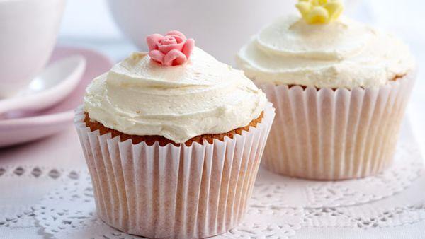 Iced cupcakes