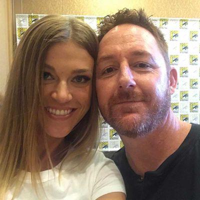 Adrianne Palicki and Scott Grimes