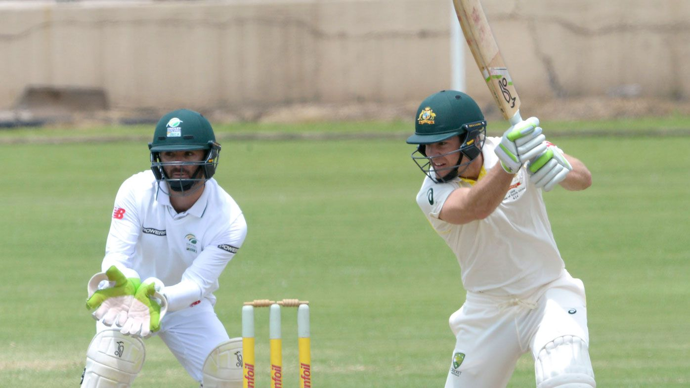 Aussie quicks among wickets in Sth Africa