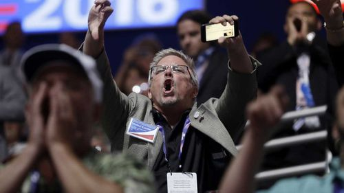 Ted Cruz is booed by RNC delegates. (AP)