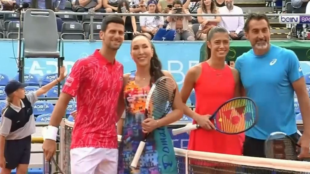 'Shocking': Novak Djokovic raises eyebrows ignoring restrictions at charity tennis event