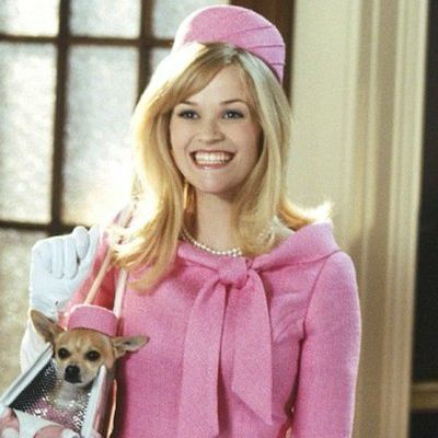 Reese Witherspoon as Elle Woods: Then