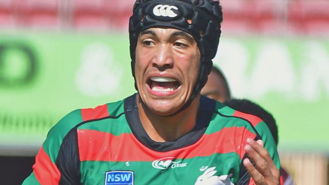 Joseph Suaalii was contracted with South Sydney Rabbitohs before reportedly signing a lucrative contract with Rugby Australia