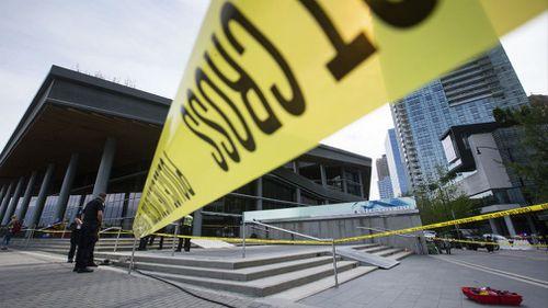 Police are investigating the crash. (AP