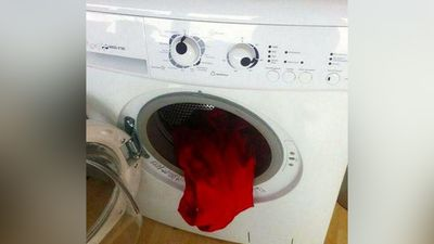 """The washing machine has just seen the score."" - Michael Gillett (Twitter)"