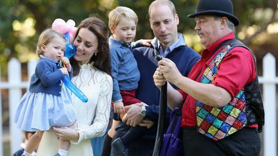 Prince George and Princess Charlotte, Canada, September 2016