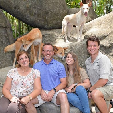 Bindi Irwin, Chandler Powell, family, Australia Zoo