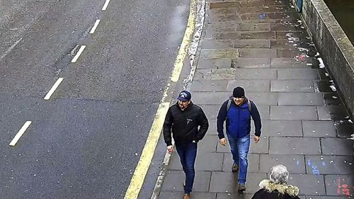 Skripal Novichok poisoning suspects