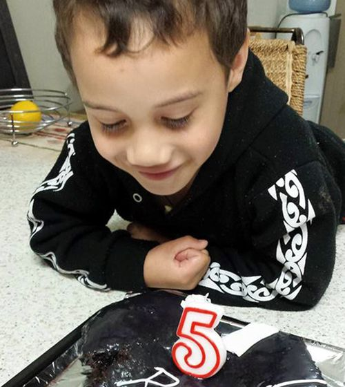 Rua, eight, was among the victims. Picture: Supplied