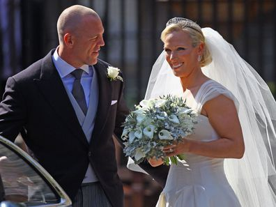 Zara Phillips marries Mike Tindall, July 2011