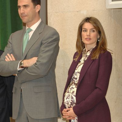 Princess Letizia, April 2007