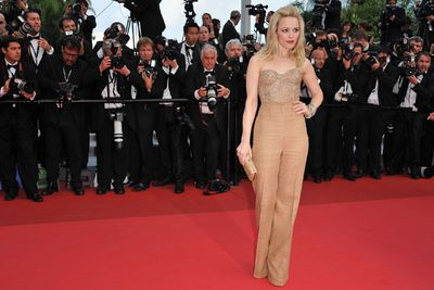 Pants on the red carpet plus invisible feet and a lack of ironing? Three strikes and you're out Rach!