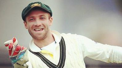IN PICTURES: Michael Clarke's birthday tribute to fallen mate Phillip Hughes (Gallery)