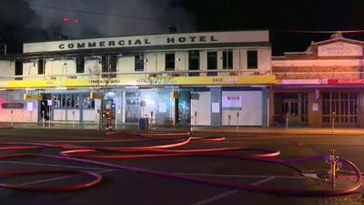 Fire destroys landmark Queensland pub