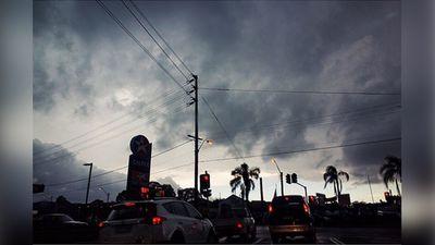 Stormy skies. (Instagram/nadeinebeyrouti)