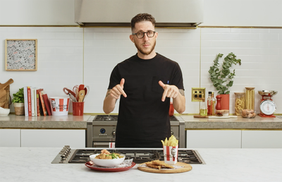 Chef Mitch Orr is the latest culinary talent to star in KFC's Kentucky Fried Cookin' series.