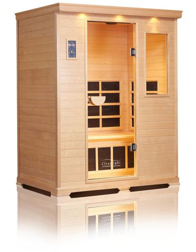 Infrared sauna, $3127.98 (US$2295)