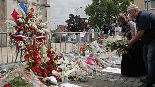 First charges filed over France church attack