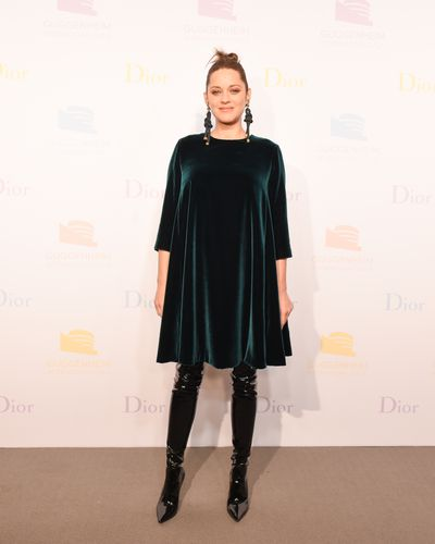 Marion Cotillard at the Guggenheim International Gala supported by Dior on November 16, 2016.