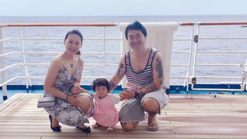 John Sun boarded the Carnival Spirit with wife Sherry and daughter Bella for the holiday of a lifetime.
