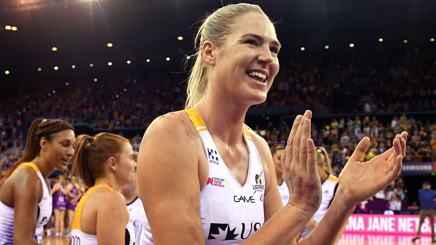 GWS Giants sign Sunshine Coast Lightning's Caitlin Bassett in major Super Netball coup