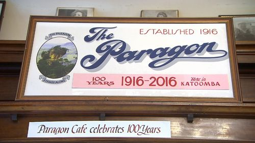 The Paragon cafe first opened in 1916. (9NEWS)