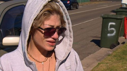 His girlfriend, Taylah, was in the apartment when Mr Nassif was shot. Picture: 9NEWS