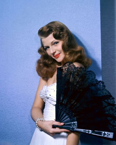 Ultimate 40's pin-up girl Rita Hayworth, 1945.