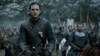 Kit Harington on Game of Thrones