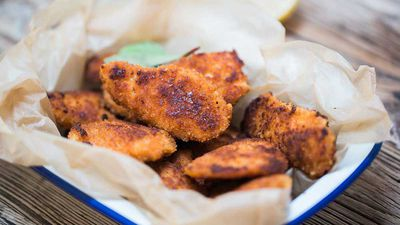 Delicious allergy-friendly chicken nuggets