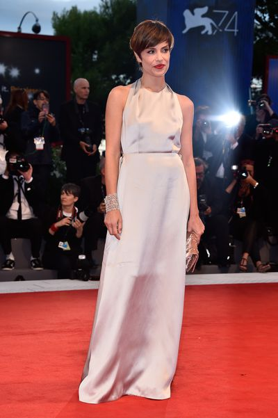 Micaela Ramazotti at the 74th Venice Film Festival, September 3, 2017.
