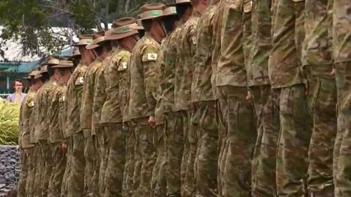 The Australian Army has reportedly enforced a man ban. (9NEWS)