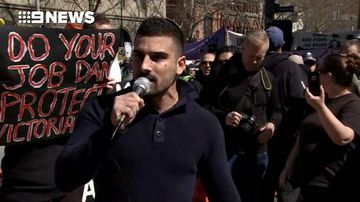 Calls for safety and security during Melbourne rally