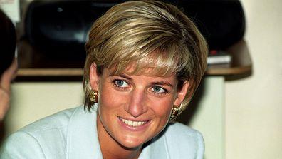 Princess Diana hospital visit year of death