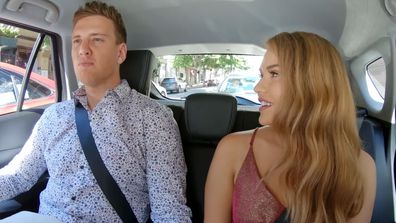 MAFS 2021 Liam and Georgia En Route Dinner Party